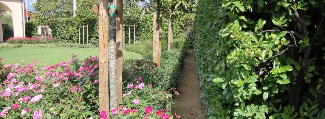 Giardino a Feriole di Teolo